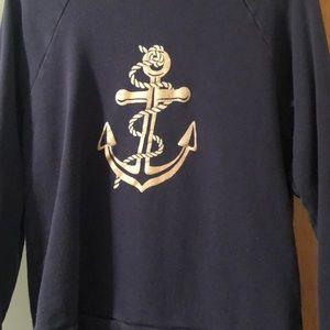 J. Crew anchor sweatshirt